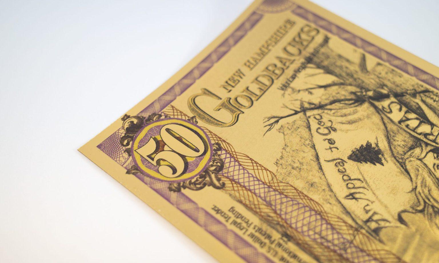 Goldback Gold Note Aurum - Valaurum, Inc.
