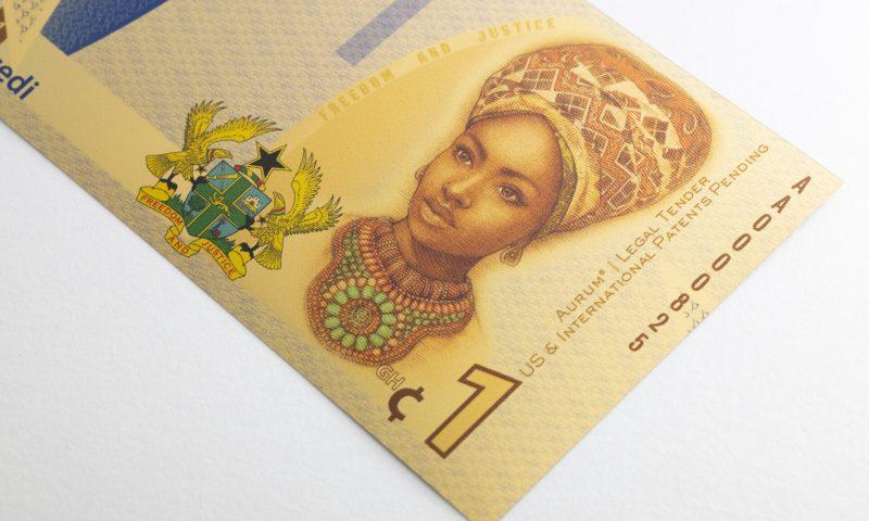 Ghana Aurum detail of portrait artwork - Valaurum, Inc.