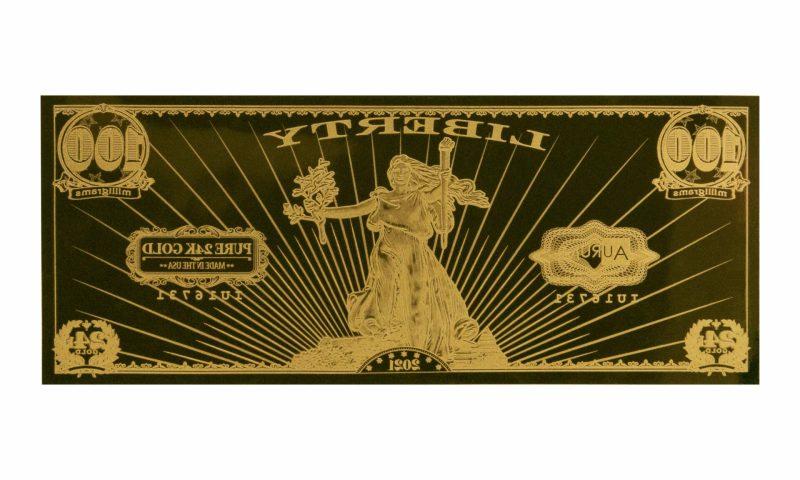 Obverse image of the 2021 St. Gauden Liberty Aurum - Valaurum, Inc.