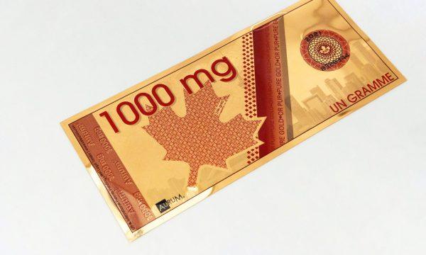 1000mg Canadian Maple Leaf Aurum®