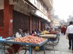 Strassenszene nahe Boudhanath, Kathmandu