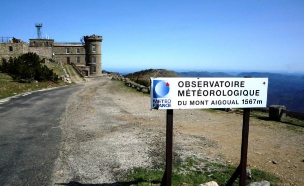 Observatoire météorologique de L'Aigoual photo d'arrivée