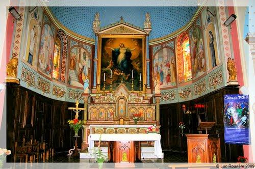 L'église de Notre Dame de la Rouvière