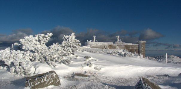 Observatoire de l'Aigoual, commune de Val-d'Aigoual