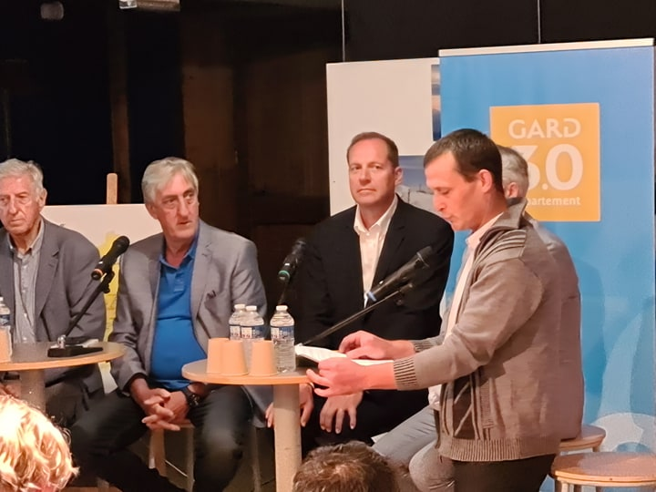 Conférence de presse pour l'arrivée du Tour de France le 3 Septembre prochain