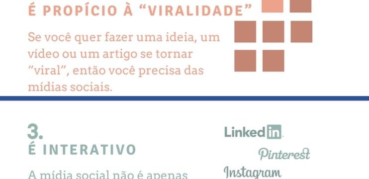 Top 5 razões para usar as mídias sociais em seu negócio.