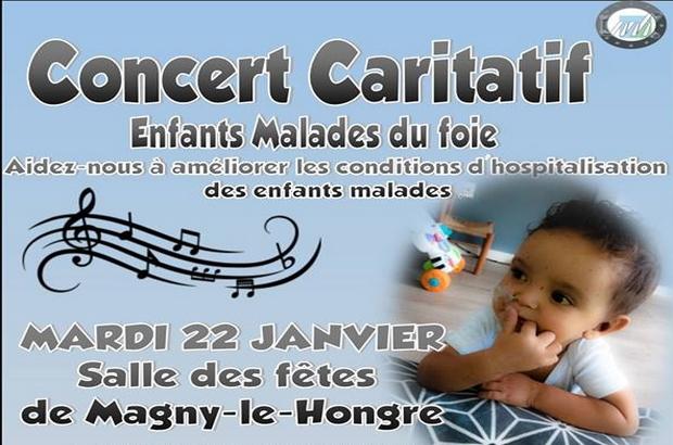 Magny le Hongre ► Concert Caritatif enfants malades du foie 22 janvier 2019