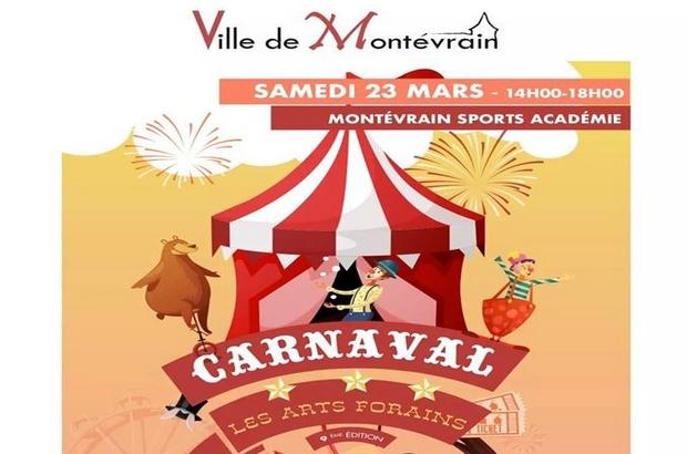 Montevrain ► 9 ème édition Carnaval des enfants Samedi 23 mars 2019