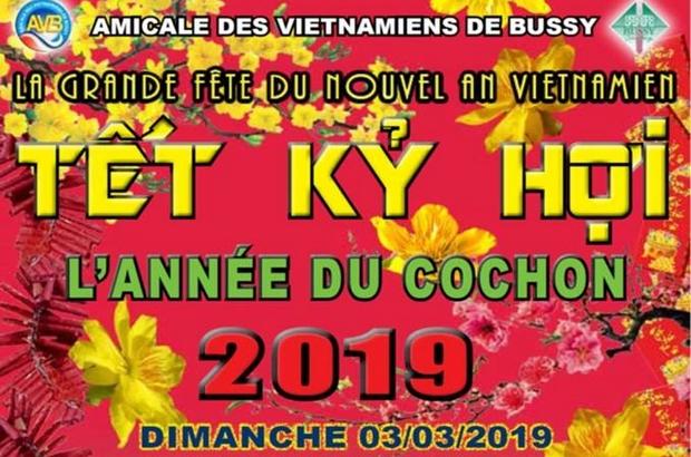 Bussy Saint Georges ► Fête du nouvel an vietnamien au gymnase Maurice Herzog