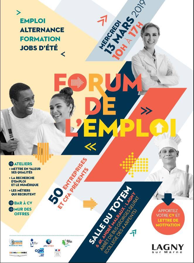Lagny Sur Marne Forum De L Emploi Alternance Formation Job D