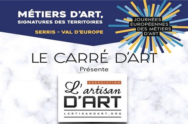 Serris ►Journées Européennes des Métiers d'Art 2019 au Carré d'Art
