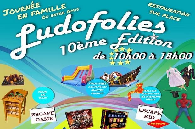 Bailly-Romainvilliers ► 10 ème édition des Ludofolies dimanche 25 mars 2019