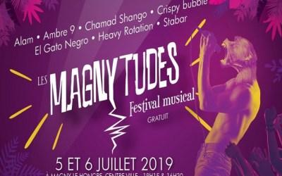 Magny le Hongre ► Festival les Magnytudes de retour les 5 et 6 juillet 2019