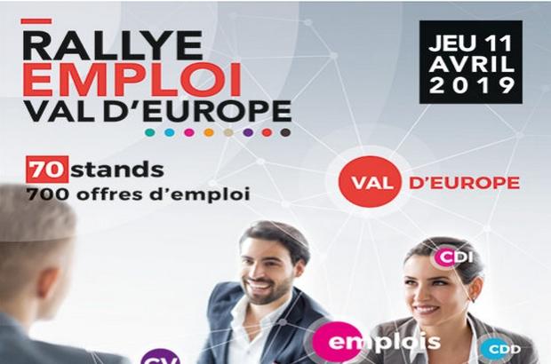 Coupvray ►Rallye Emploi du Val d'Europe, Rencontrez les entreprises qui recrutent