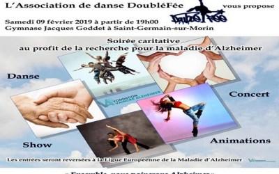 Saint Germain sur Morin ► Soirée Caritative au profit d'Alzheimer