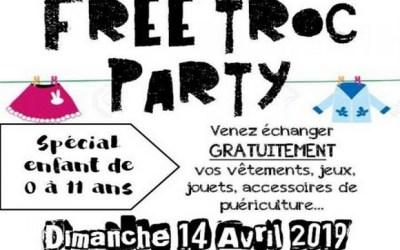 Villeneuve-le-Comte ►Free Troc Party Dimanche 14 avril 2019