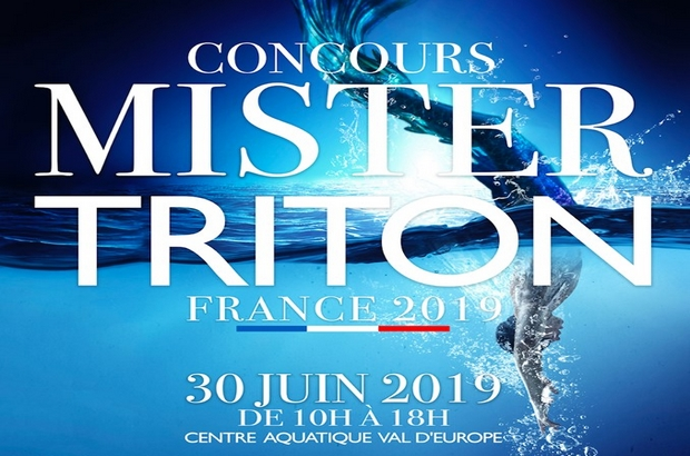 Bailly Romainvilliers ► Mister Triton France 2019, le 30 juin 2019
