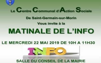 Saint-Germain-sur-Morin ► Matinale info sur le thème de la prévention le 22 mai