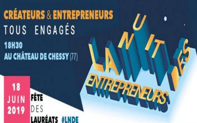 Chessy ► Réseau Entreprendre Seine & Marne organise La Nuit Des Entrepreneurs le 18 juin