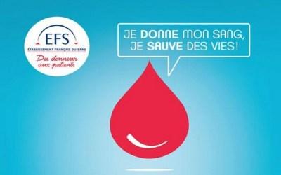 Esbly ► Un don du sang est organisé vendredi 13 septembre à l'Espace Jean-Jacques Litzer