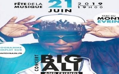Montevrain ► Fête de la musique avec Big Ali, Kessy & Friends le 21 juin 2019