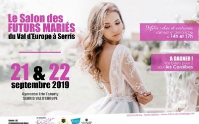 Serris ► Salon des Futurs Mariés du Val d'Europe 2019 les 21 et 22 septembre 2019