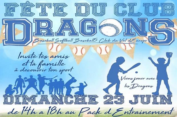 Bailly-Romainvilliers ► Venez découvrir la pratique du Baseball, du Softball le 23 juin
