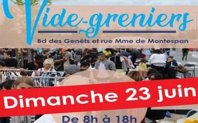 Bussy-Saint-Georges ► Le Vide-Greniers  prévu le 16 juin est reporté au 23 juin