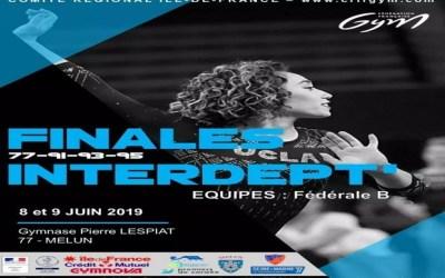 Serris ► Le Club Infinity Gymnastics participe aux Finales Interdept' les 8 et 9 juin à Melun