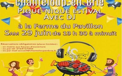 Chanteloup-en-Brie ► Pique-Nique Estival à la ferme du Pavillon le 29 juin