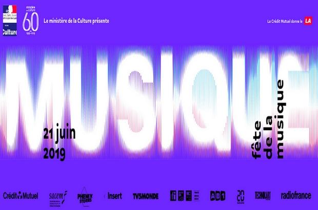 Programme de la Fête de la Musique 2019 au Val d'Europe et ses alentours