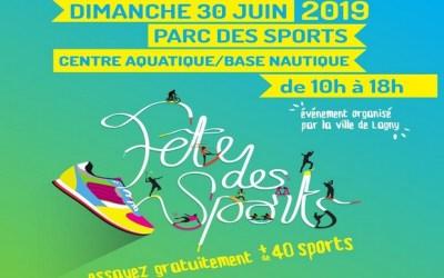 Lagny sur Marne ►Initiez-vous à 40 sports à la Fête des Sports dimanche 30 juin