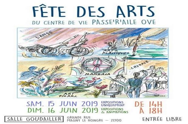 Magny le Hongre ► Exposition «Fêtes des Arts» les 15 et 16 juin 2019