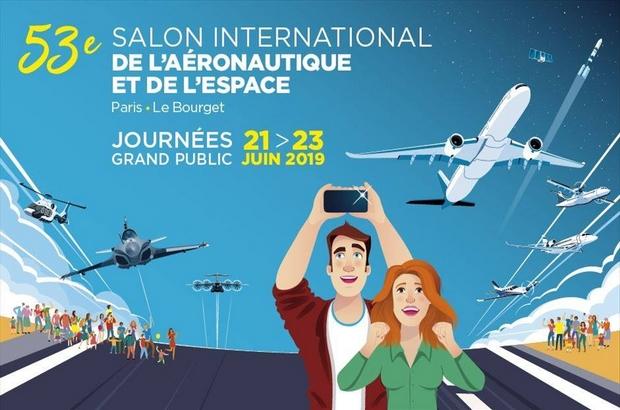 Salon du Bourget : Salon de l'aéronautique et de l'espace du 21 juin au 23 juin 2019