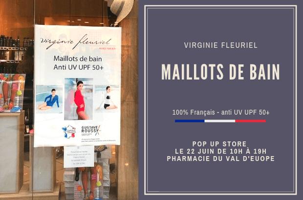 Serris ► Les Maillots de bain Virginie Fleuriel  à découvrir le 22 juin au Val d'Europe