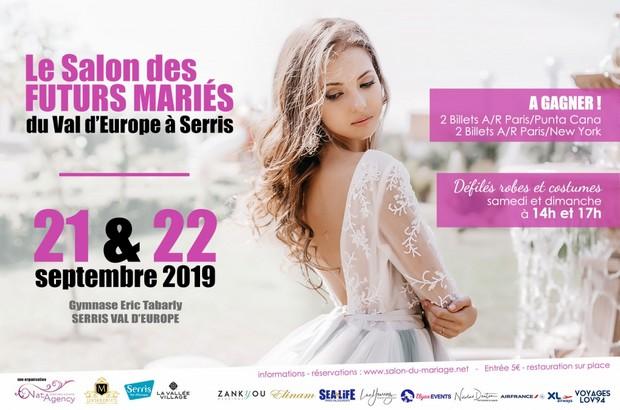Serris ► Le salon des futurs mariés sur le Val d'Europe aura lieu les 21 & 22 septembre 2019