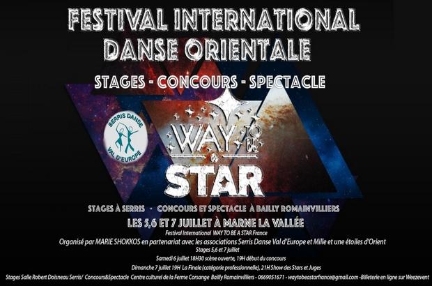 Bailly Romainvilliers ►Festival International de Danse Orientale les 5, 6 et 7 juillet 2019