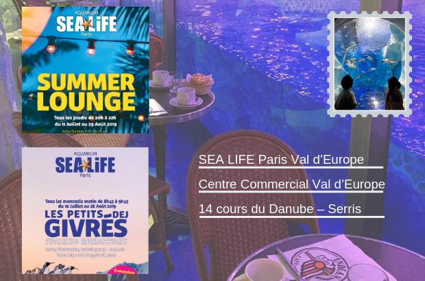 Serris ► Sea Life Val d'Europe organise Les Frozen-Breakfast et les Summer Lounge
