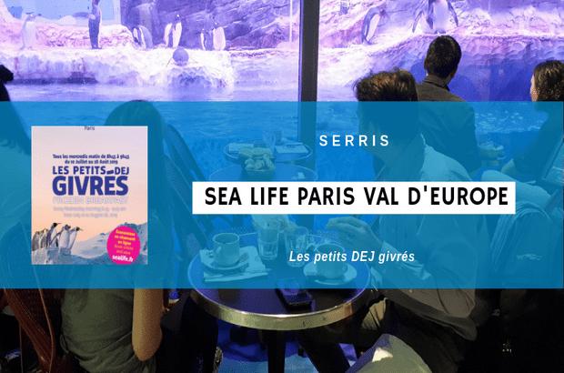 Serris ► Venez prendre un petit déjeuner avec les manchots de Sea Life Val d'Europe
