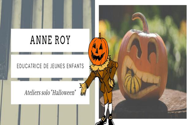 Ateliers Halloween personnalisés en solo ou duo Musique et Arts Plastiques
