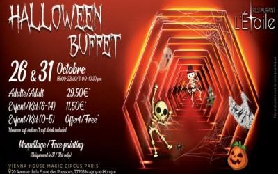 Soirées Halloween dans les hôtels Vienna House Dream  Castle et Magic Circus Paris