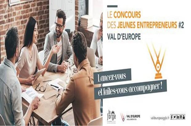 Val d'Europe Agglomération organise la 2è édition du Concours des Jeunes Entrepreneurs.