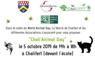 Chalifert ► Une journée Chali'Animal Day au profit des animaux le 5 octobre