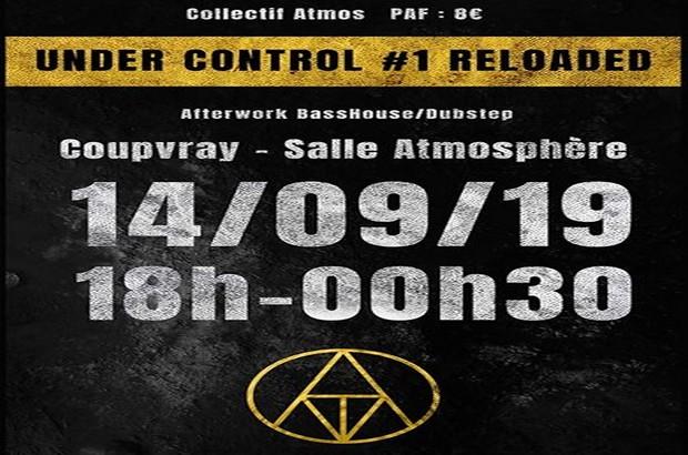 Coupvray ► Concert électro Under Control #1 Reloaded  14 septembre à l'Atmosphère