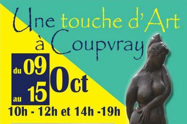 Salon d'Art Contemporain « une touche d'art à Coupvray » à la Ferme du Château