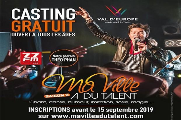 Magny le Hongre ► Casting Ma Ville a du Talent, le 12 octobre au File 7