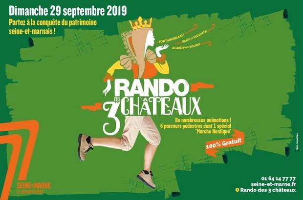 Partez à la conquête du patrimoine seine-et-marnais avec la Rando des 3 châteaux