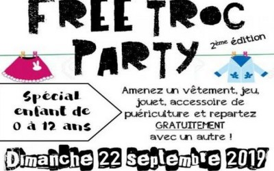 Villeneuve-le-Comte ►Free Troc Party Dimanche le 22 Septembre 2019