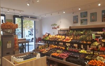 Le Verger de Chessy, nouveau primeur, salad, Juice-Bar a ouvert rue d'Ariane