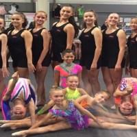 Championnat départemental individuel de gymnastique rythmique à Bailly Romainvilliers